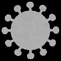 コロナウイルスの変異株のイラスト9