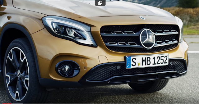 The new GLA: Fitness programme for compact SUV – Trailer – Mercedes-Benz original