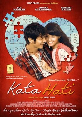 Poster Film Kata Hati