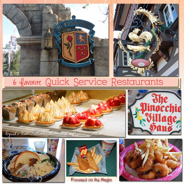 Walt Disney World Quick Service Restaurants