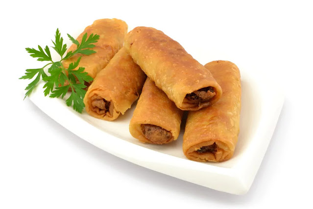 Spring Rolls Recipe in Hindi