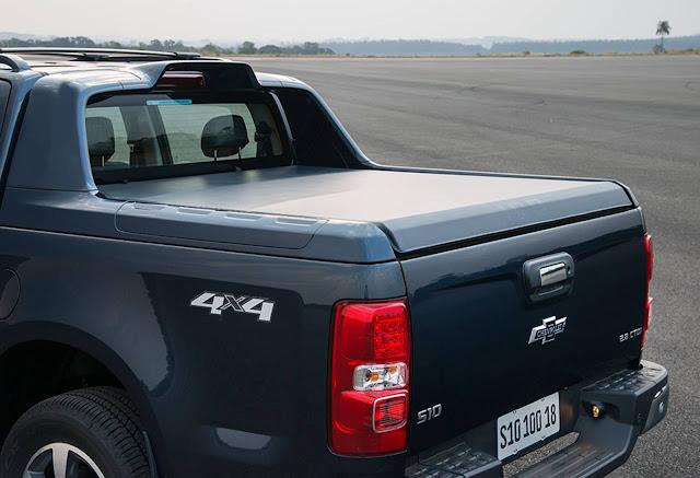 GM S-10 conta com mais itens de segurança