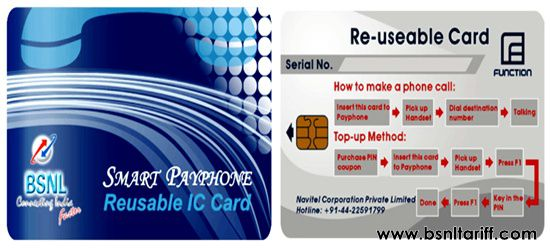 BSNL Smart Card PCO services
