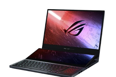 Asus Zephyrus Duo 15: a gaming laptop with two displays