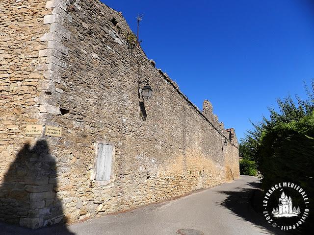 SALAZAC (30) - Village médiéval - Rempart