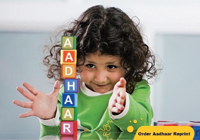 How To Reprint Aadhaar - Order Aadhaar Reprint