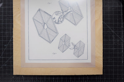 tie fighter star wars printables acrylic wood panel framing