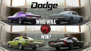 Dodge Charger Vs Dodge Challenger
