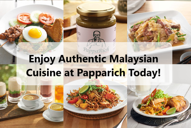 Enjoy Authentic Malaysian Cuisine at Papparich Today