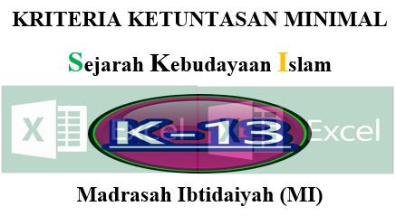 Aplikasi KKM K13 Sejarah Kebudayaan Islam