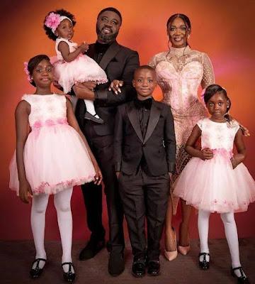 Mercy Johnson Celebrates 10 years wedding anniversary