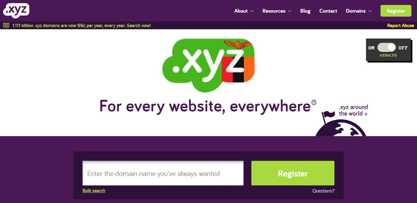 Bagus atau Tidak Menggunakan Ekstensi Domain XYZ