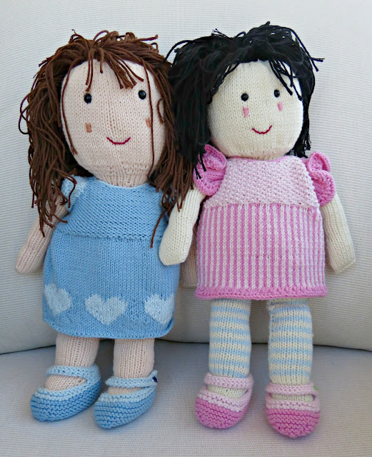 Free Dolls Knitting Patterns To Download : just saying ...: Costa Brava Rag Dolls