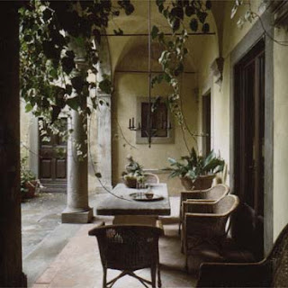 Axel Vervoordt, summer resort, image from Timeless Interiors, as seen on linenandlavender.net