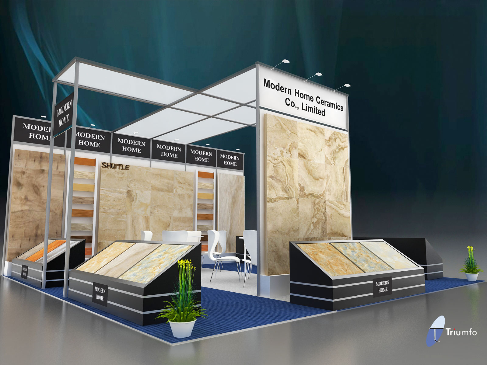 Modular Exhibition Stands Out : Exhibition stand design modular stands a cost effective