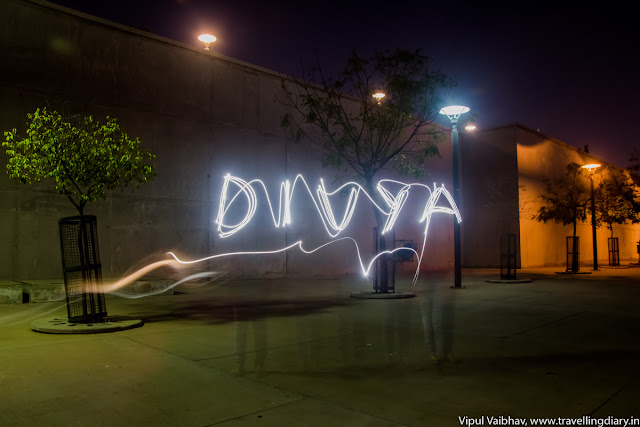 Light paintng photography