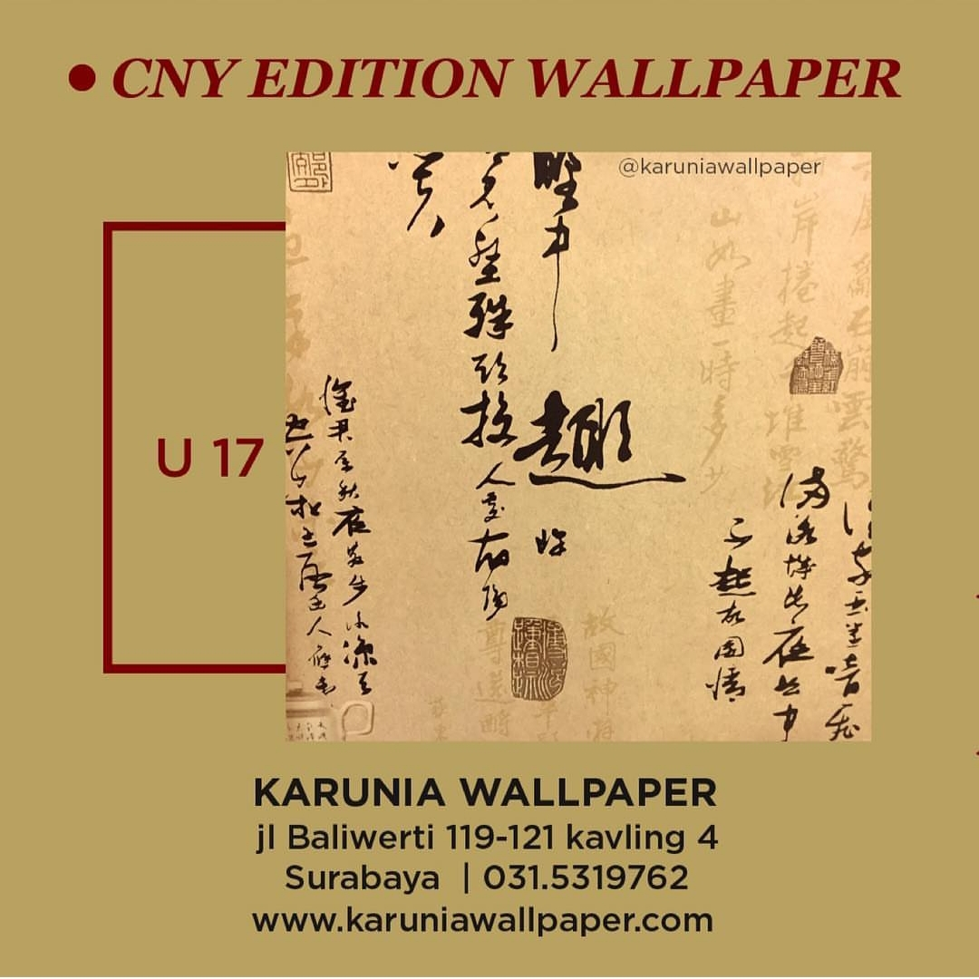 jual wallpaper cina oriental