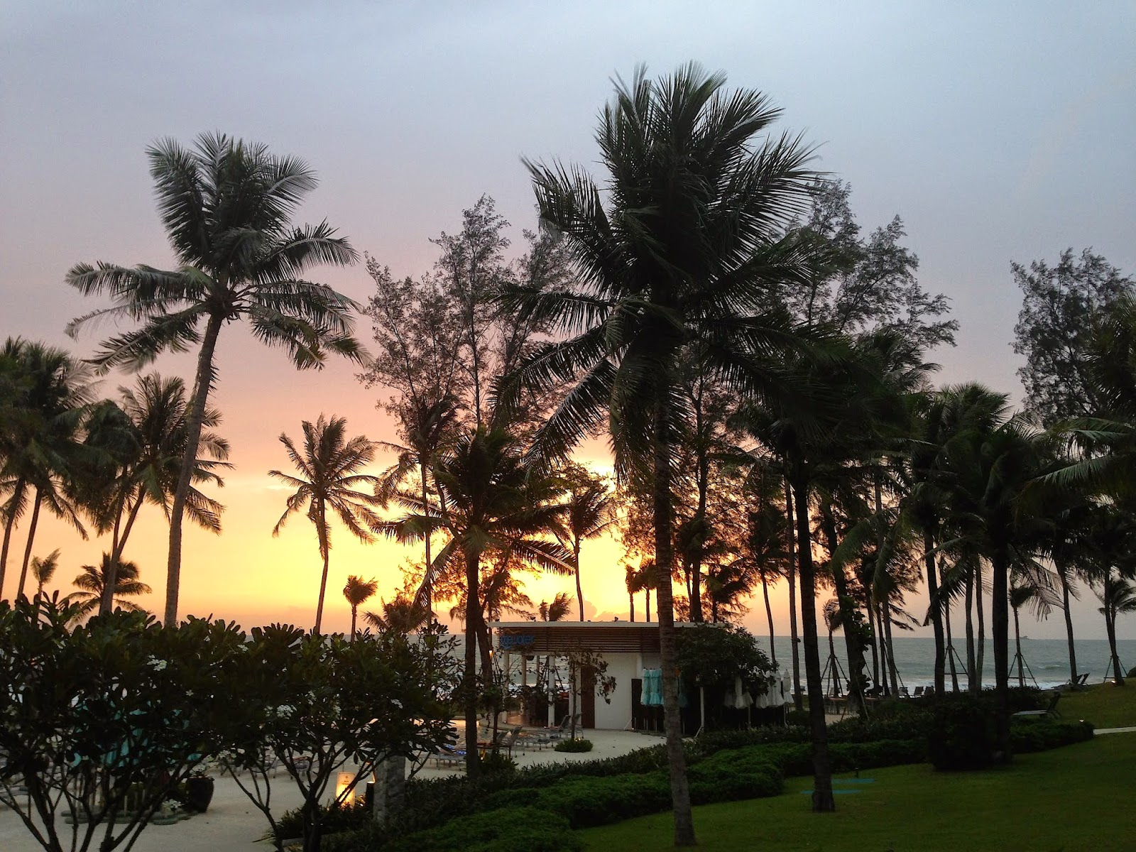 Sunset, Outrigger Laguna Phuket Beach Resort