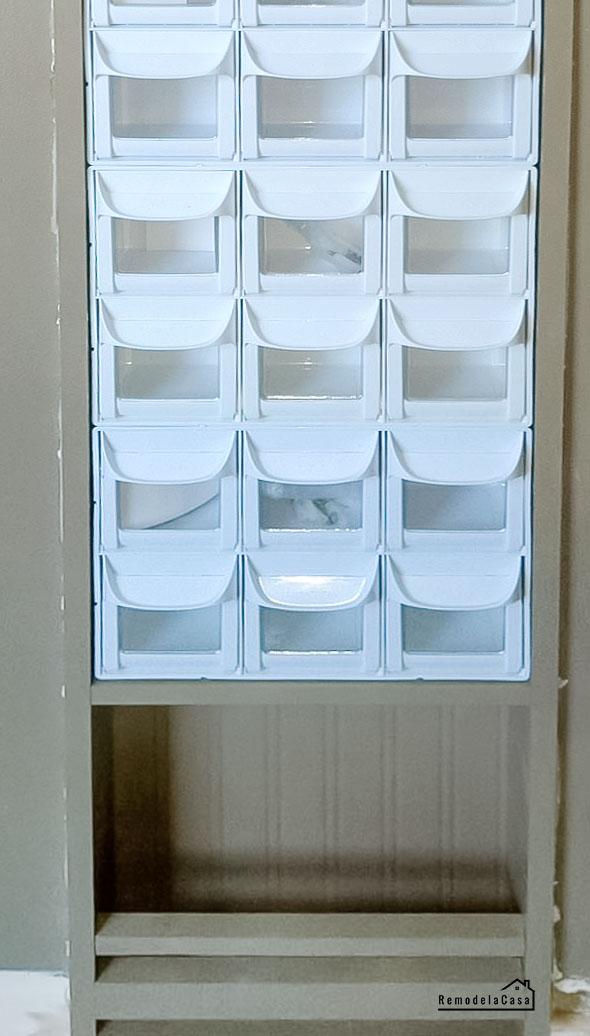 flip out bins in kids room storage