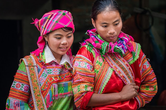 Beauty cultural identity of ethnic Hmong in Ha Giang 1