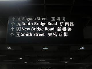 MRT Chinatown, Singapura