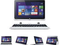 Acer Aspire Switch 10, Tablet Hybrid Tawarkan Layar Tajam Dan Bodi Ringan
