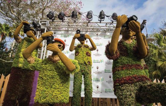 Festival Food And Wine No Parque Busch Gardens Tampa Partiu Parques