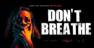 Don't Breathe Movie poster and review