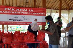 Aksi Peduli Kasih PKK  Aralia di Lingkungan Felisitas 3