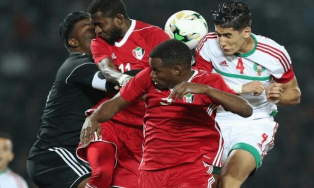 ملخص واهداف مباراة المغرب والسودان (2-0) تصفيات كاس العالم