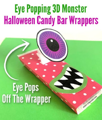 Halloween Monster Candy Wrappers