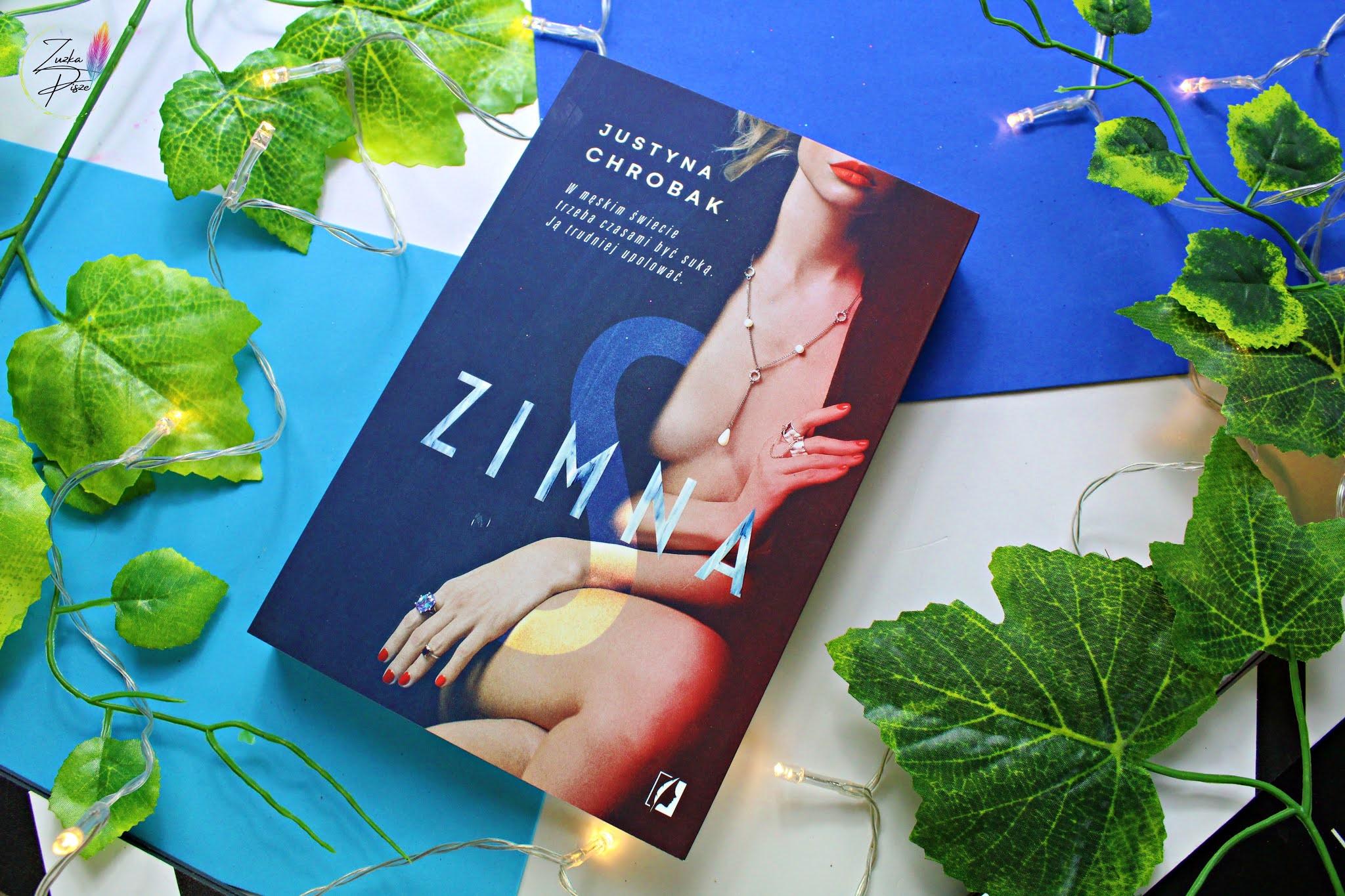 """Justyna Chrobak """"Zimna S"""" - recenzja książki"""