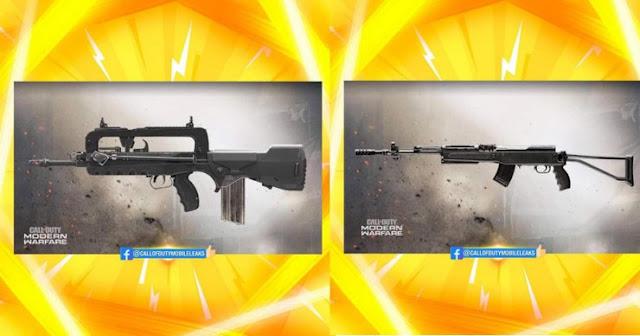 سلاحان جديد: SKS و FAMAS في كول اوف ديوتي