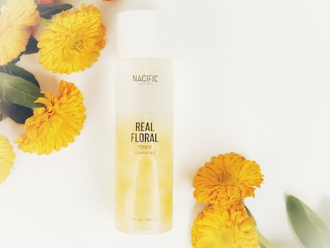 Review Nacific Real Floral Calendula Toner