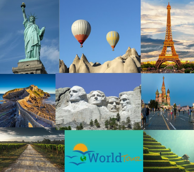 TOP 10 MOST VISITED COUNTRY: WORLD TOUR