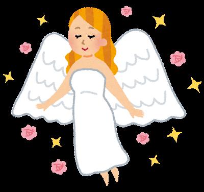 女神のイラスト