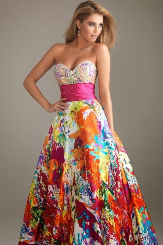 0ae0ab7d3 Fantásticos vestidos de 15 años de colores
