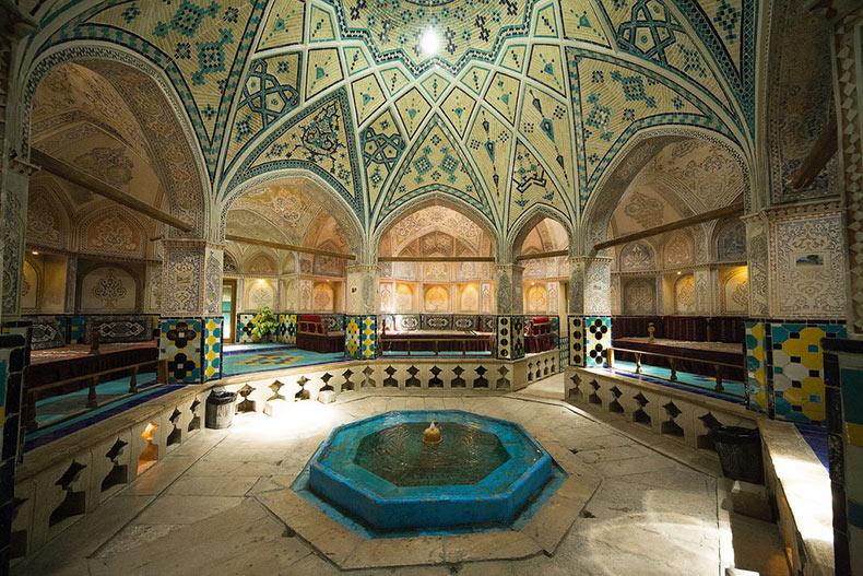 Los baños del Sultán Amir Ahmad | Irán