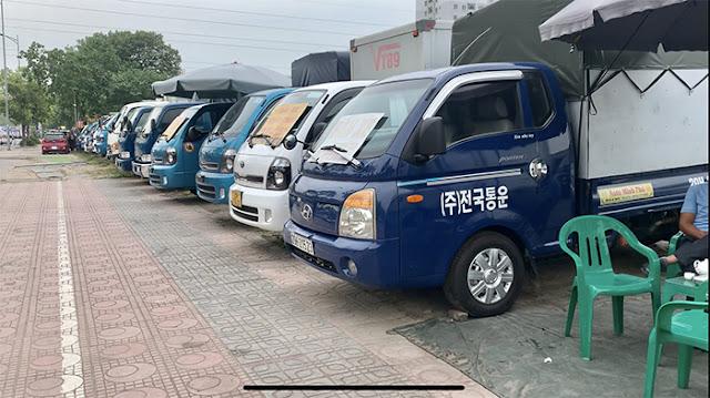 Mua bán xe tải 1 tấn cũ ở Hà Nội