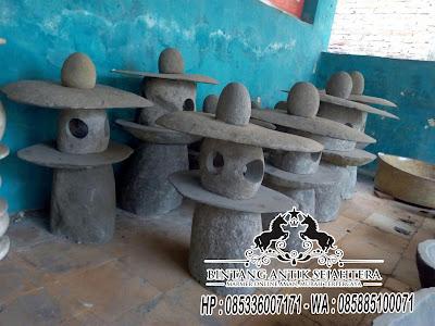 Lampu Taman Batu Alam Bali, Harga Lampu Batu Alam, Jual Lampu Taman Batu Alam