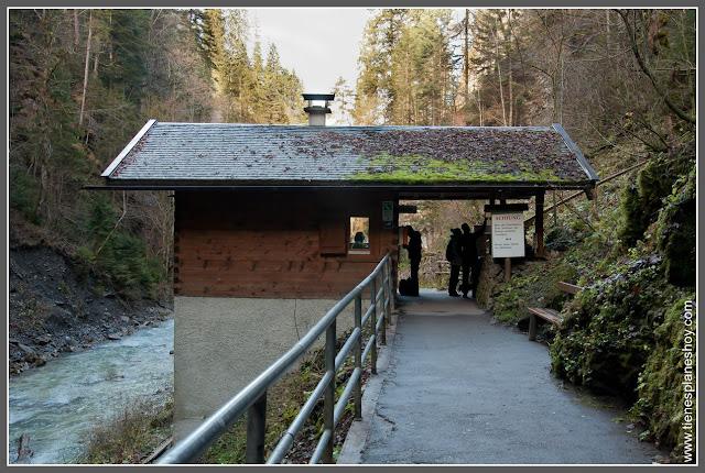 Entrada Partnachklamm Baviera (Alemania)