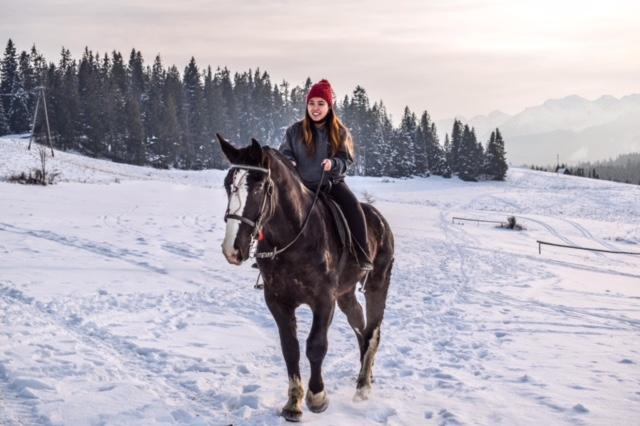 Jazda konna zimą Zakopane