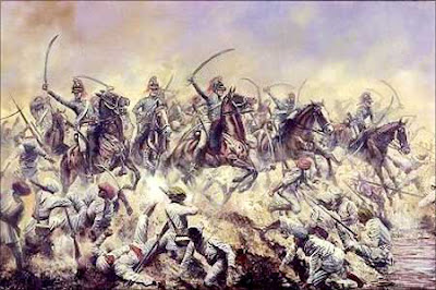"""The battle of Plassey was followed, in the words of the Bengali poet Nabin Chandra Sen, by """"a night of eternal gloom for India"""". The English proclaimed Mir Jafar the Nawab of Bengal and set out to gather the reward. The Company was granted undisputed right to free trade in Bengal, Bihar and Orissa. It also received the zamindari of the 24 Parganas near Calcutta. Mir Jafar paid a sum of Rs. 17,700,000 as compensation for the attack on Calcutta to the Company and the traders of the city. In addition, he paid large sums as 'gifts' or bribes to the high officials of the Company. Clive, for example, received over two million rupees, Watts over one million. Clive later estimated that the Company and its servants had collected more than 30 million rupees from the puppet Nawab. Moreover, it was understood that British merchants and officials would no longer be asked to pay any taxes on their private trade."""
