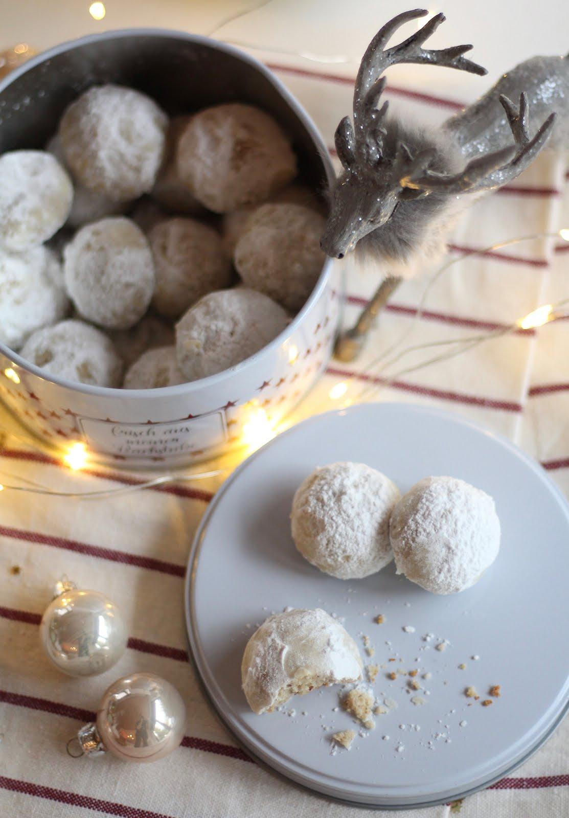 Pekan Butter Kugeln/ Pecan Butter Balls - Rezept von Sugarprincess | SCCC 2019: Türchen Nr. 12 | Gewinnspiel