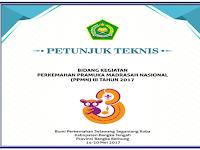 Buku Petunjuk Teknis Penyelenggaraan Kegiatan Perkemahan Pramuka Madrasah Nasional tahun 2017