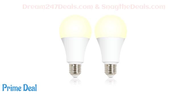 50%off Smart Bulbs WiFi LED Light Bulb--2~6pack