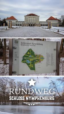 Rundweg Spaziergang Schloss Nymphenburg | kleine Wanderung in München | Tourenbericht + GPS-Track | wandern Bayern
