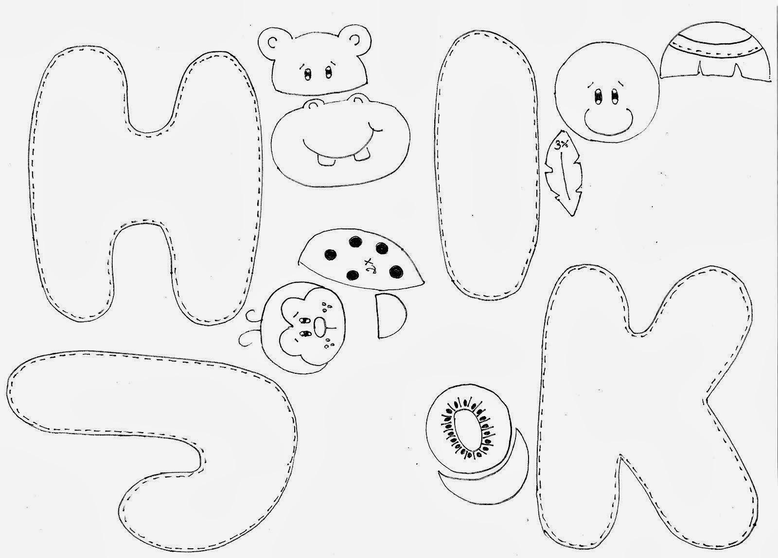 Meio Ligado Alfabeto 5