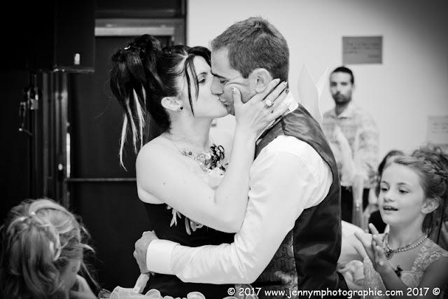 bisous des mariés photos animations repas mariage