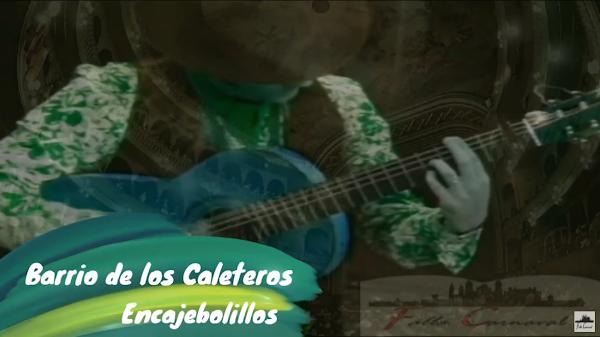 """Pasodoble con LETRA """"Barrio de los Caleteros"""". Comparsa """"Encajebolillos"""" (1991) de Antonio Martín"""